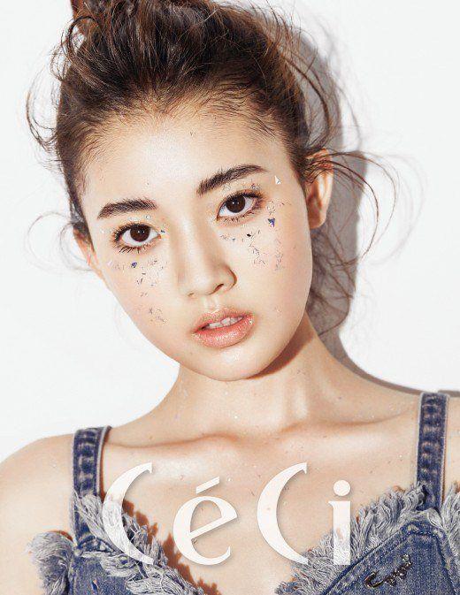 Jung Da Bin is a sparkle fairy for 'CeCi' | http://www.allkpop.com/article/2016/06/jung-da-bin-is-a-sparkle-fairy-for-ceci