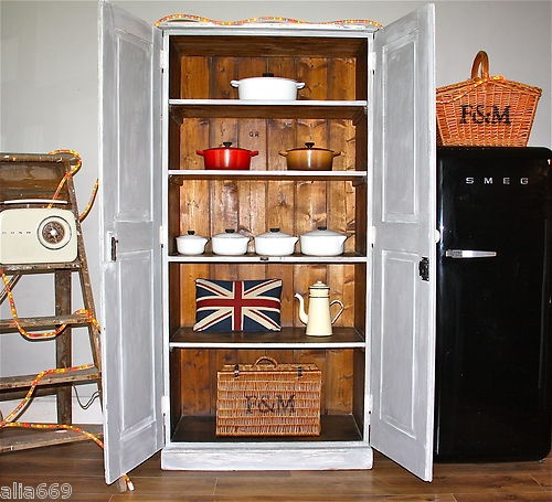 Vintage Kitchen Pantry: 17 Best Ideas About Armoire Pantry On Pinterest