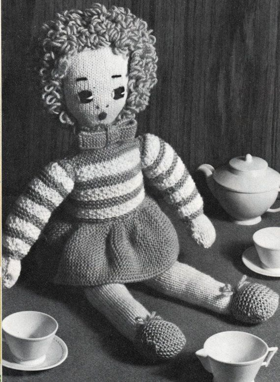 221 best images about Vintage Knitting and Crochet Patterns on Pinterest Co...