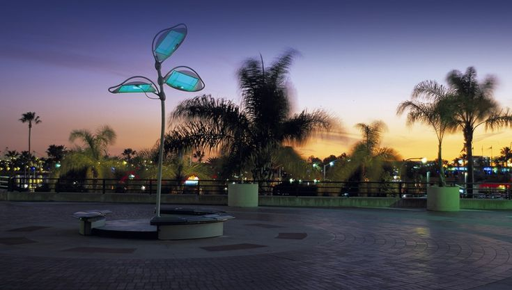 Engineering Design Firm - Solar Flora 1 - Nectar Product Development embraces the concept of sustainable design for making a beautiful solar-powered art and increasing utilization of clean, renewable energy.