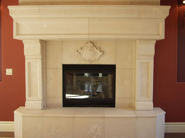 39 best fireplace ideas images on pinterest beach houses for Concrete mantels and hearths