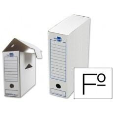 Cajas de archivo definitivo Liderpapel carton