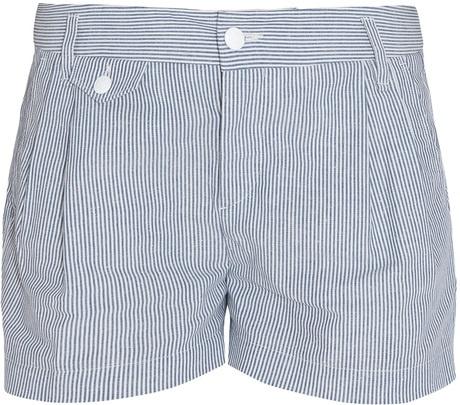 RAG & BONE   Stripe Tennis Shorts - Lyst