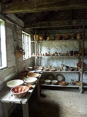The potters' finished wares, Sorring (Beth M527) Tags: denmark museums 2014 kongenslyngby frilandsmuseet theopenairmuseum