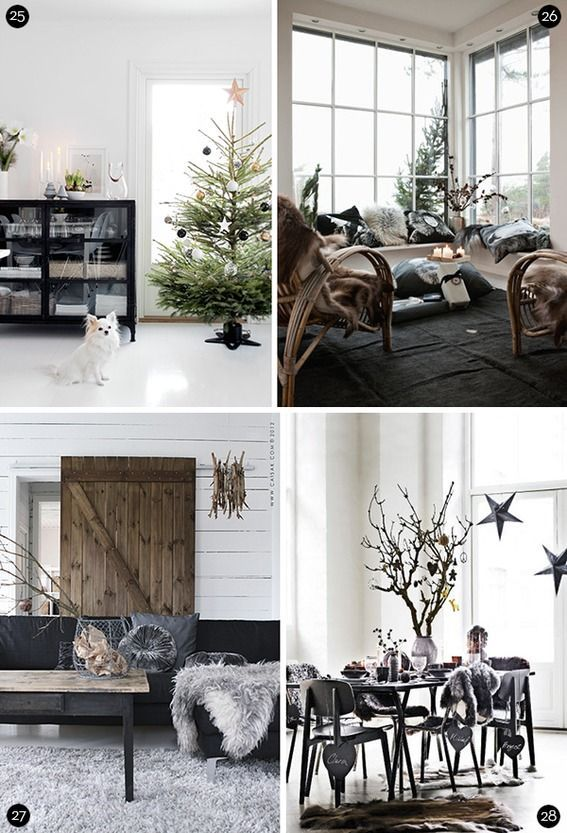Scandinavian Christmas Decor Ideas. , , , , , , , , .