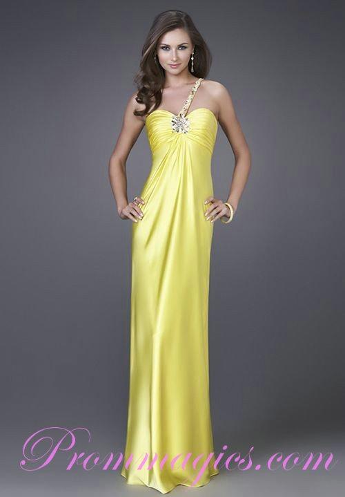 16 besten One Shoulder Prom Dress Bilder auf Pinterest ...