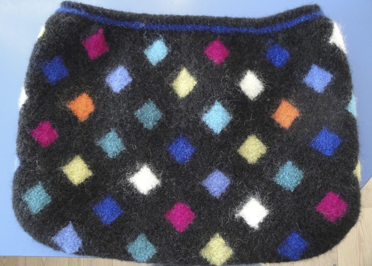 Doo it - just doo it: TASKE - igen igen - strikket og filtet
