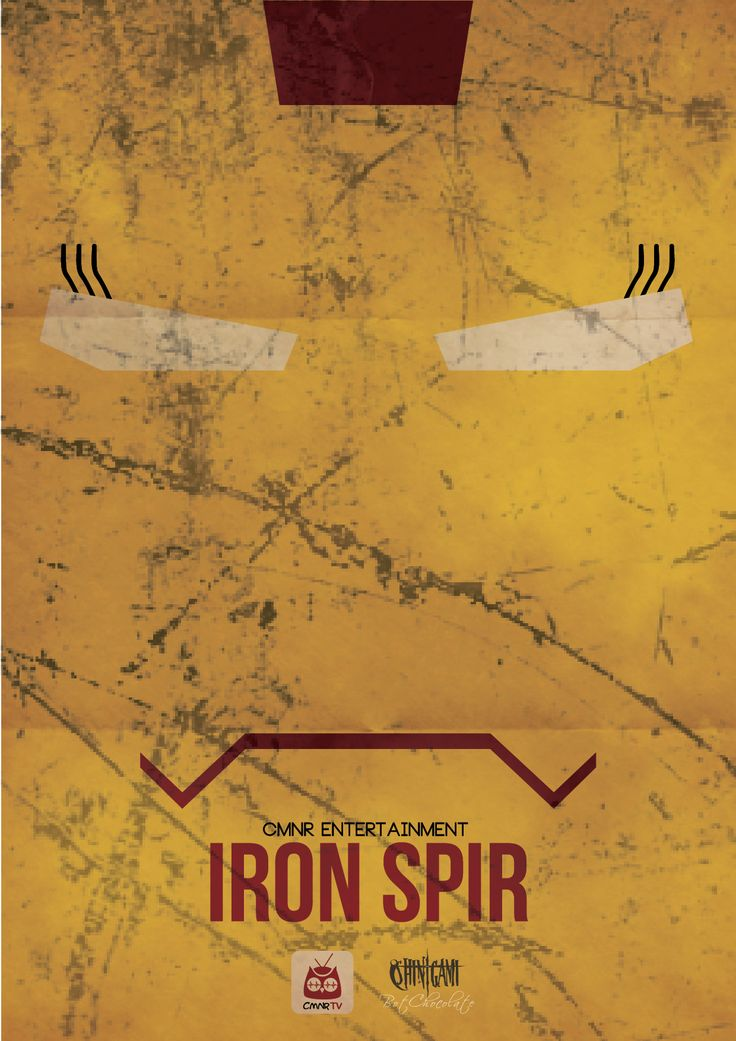 Iron Spir - CMNR Avenger Poster - Design by BotChocolate