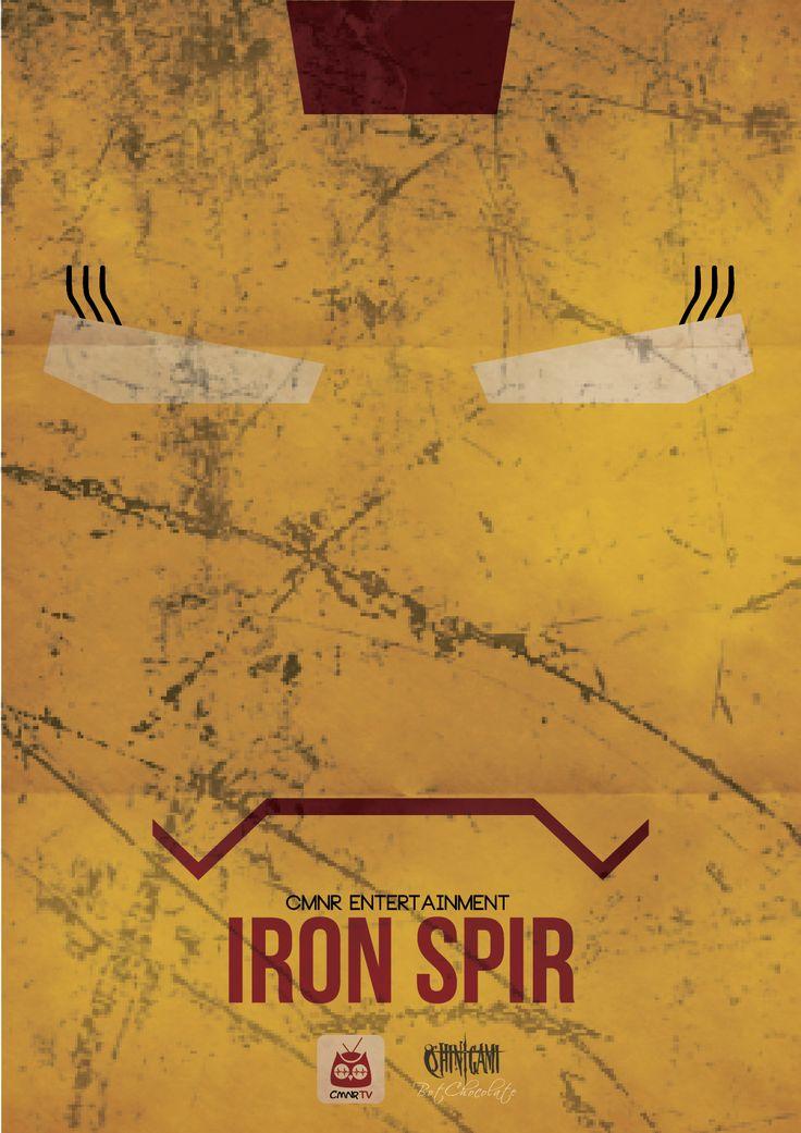 Iron Spir - CMNR Avenger Poster - Design by BotChocolate