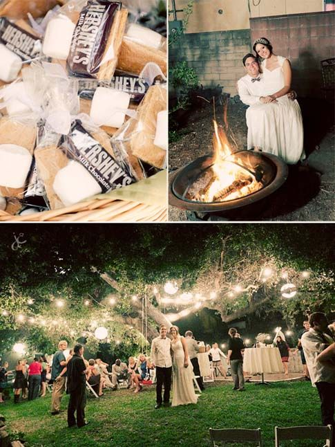 Awesome, Outdoor, Small Budget Wedding