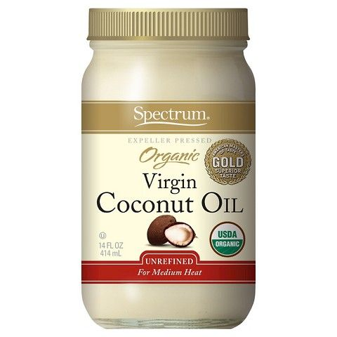 $9 (Use for lotion and hair) Spectrum Organic Virgin Coconut Oil 14 oz