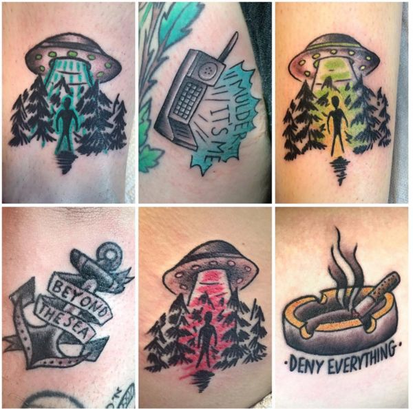 Small X Files Tattoo: 52 Best The X-Files Tattoo Images On Pinterest