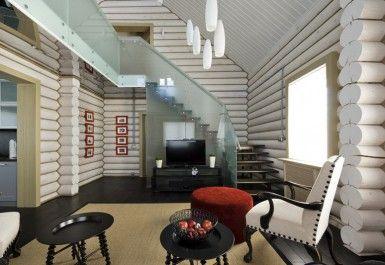Интерьер лестницы в доме - фото гостиной, прихожей, холла, коридора | Переделка ТВ - Официальный сайт программ «Квартирный вопрос» и «Дачный ответ»