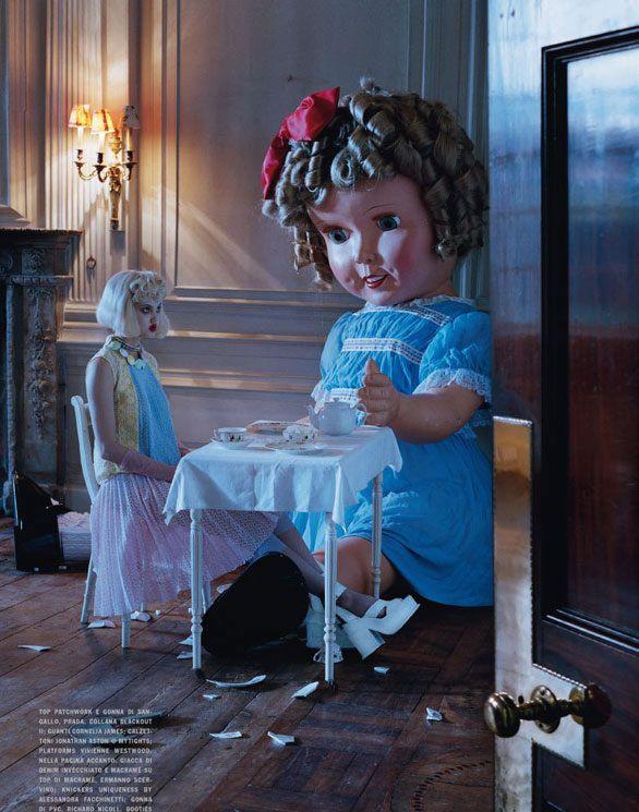 Digitalized Children: Ray Caesar's Surreal Art