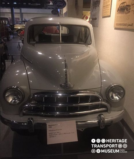 Here's a front view of Hindustan 14 car displayed at the museum. :) #hindustanmotors #ambassador #heritage #transport #museum #incredibleindia #oldtimes #vintage #vintagestyle #vintagecars #travel #tour #photography #htm #gurugram #gurgaon #delhi #explore