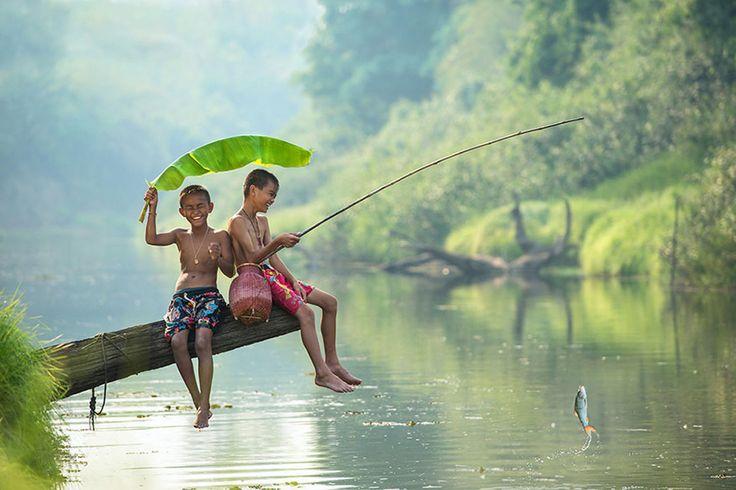 30 photos magiques d'enfants qui jouent autour du monde | DiazePaM