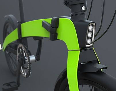 """Check out new work on my @Behance portfolio: """"Folding bike"""" http://on.be.net/1WbWFNW"""