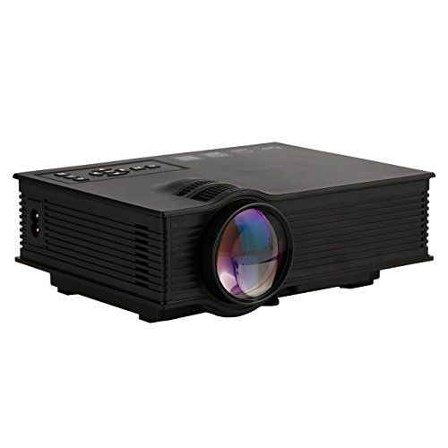 "Videoprojecteur Yokkao UC46 Mini Projecteur Portable LCD LED Full HD 1080P 130 "" Divertissement Cinéma, Domicile, Théâtre, Multimédia, Conférence pour PC Tablet/ Smartphone, etc 
