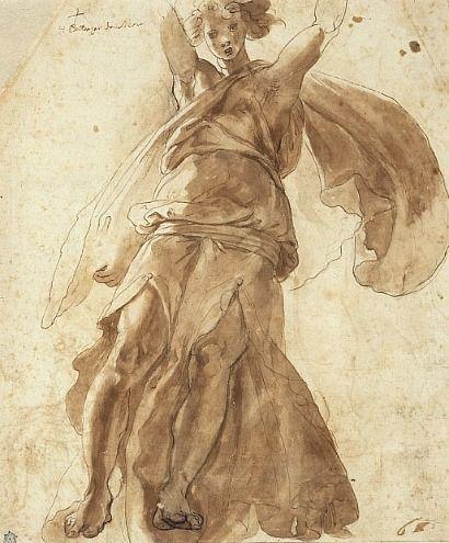 Pellegrino Tibaldi, Dancing figure (1555-58)
