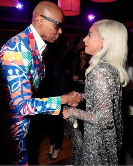 Lady Gaga And Rupaul A Star Is Born Premiere Lady Gaga