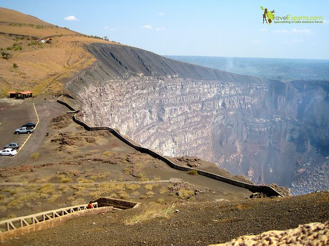 Did you know there is a volcano in Nicaragua that is so accessible that you can drive up to the crater? I was amazed too, come check it out: http://travelexperta.com/2011/08/picture-this-masaya-volcano-nicaragua.html #Nicaragua #MasayaVolcano