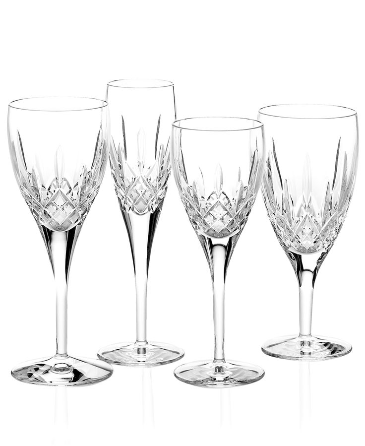 waterford stemware lismore nouveau collection waterford glasswish - Waterford Crystal Wine Glasses