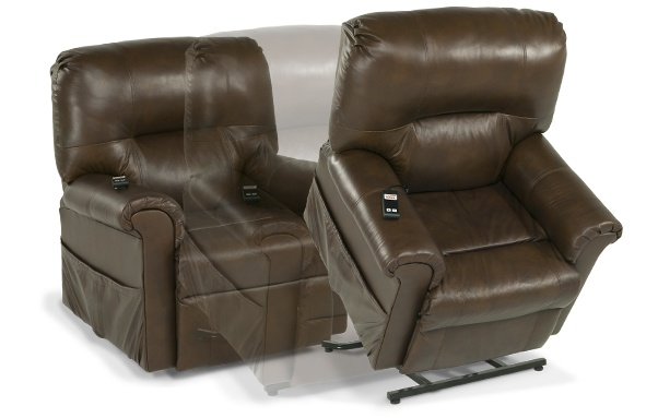 leather power lift recliner bobs furniture living rooms pintere
