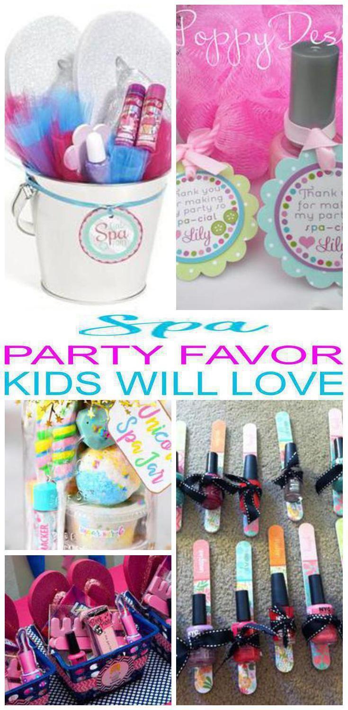 Spa Party Favor Ideas Diy Spa Birthday Party Diy Spa Party