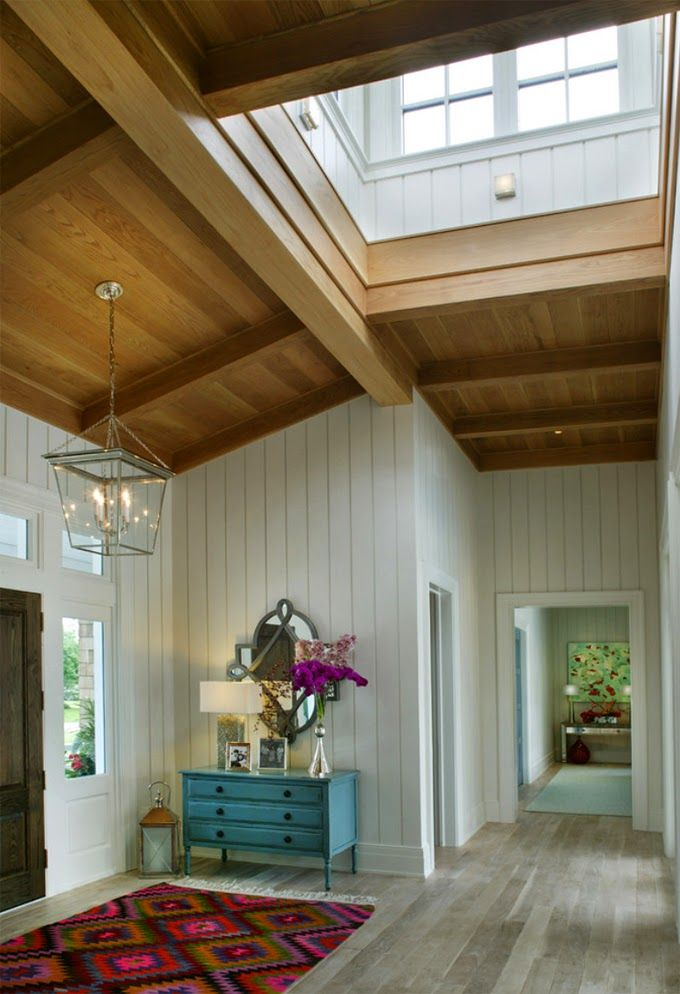 greens lovely creamy vaulted ceiling and long hallway rounded ceiling ...
