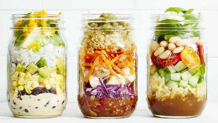 Cuisiner à l'avance : préparer les repas de la semaine en bocaux
