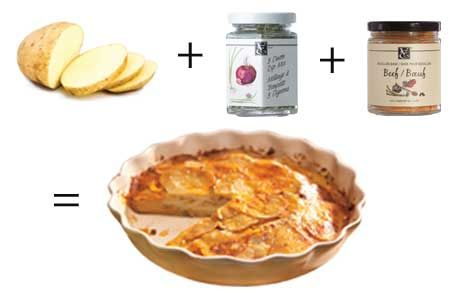 Skinny Scalloped Potatoes w/ epicure steamer http://michellestevenson.myepicure.com/