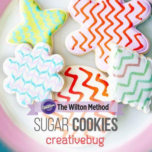 Şekerli kurabiyeler