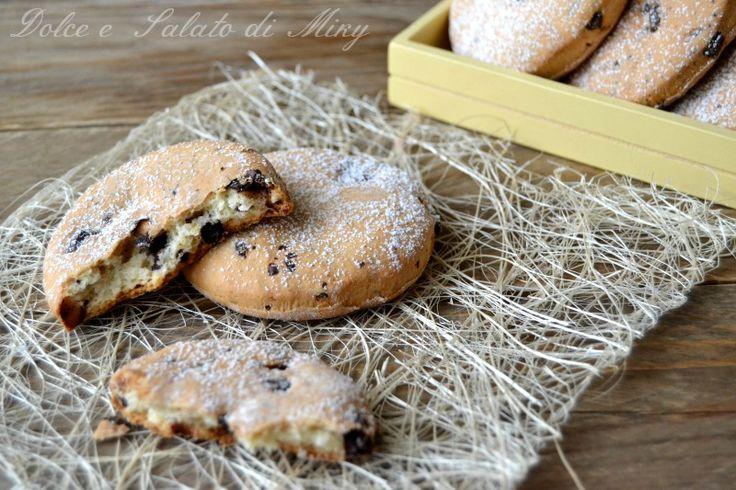 ricetta biscotti con ricotta e cioccolato| Dolce e Salato di Miky