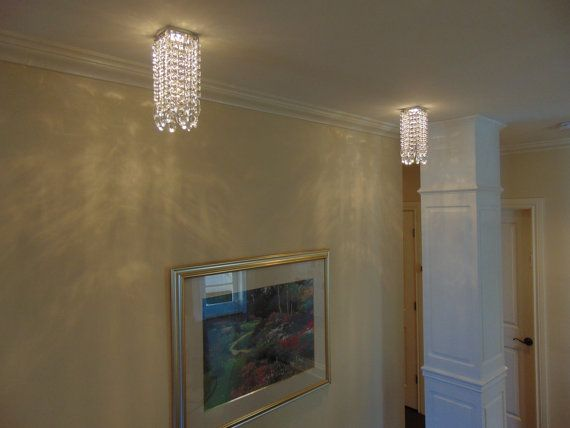 Luxe Crystal VEGAS Easy Clip On Magnet Mini Crystal Chandelier for Recessed Pot light by LuxeCrystalFixture