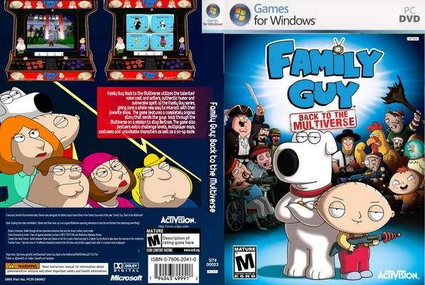 imagen Family Guy Back to the Multiverse [Español]