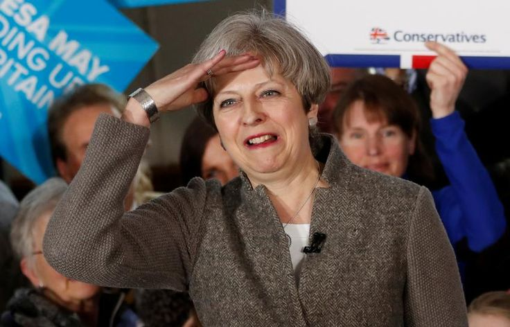 #world #news  UK PM May's Conservatives hold 11 point lead over Labour: ORB poll