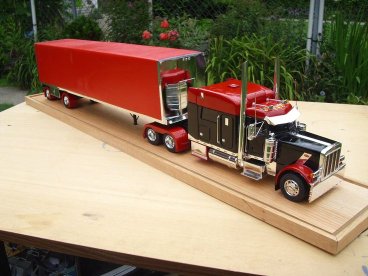 Custom Toy Semi Trucks : Model trucks diecast cars pinterest models