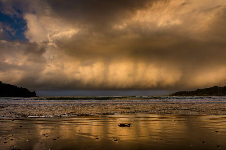 'Storm Clouds'  Oneroa Beach  Waiheke Island