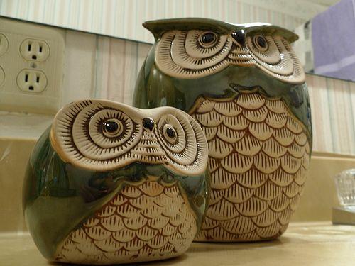 Owl Pots | Flickr - Photo Sharing!