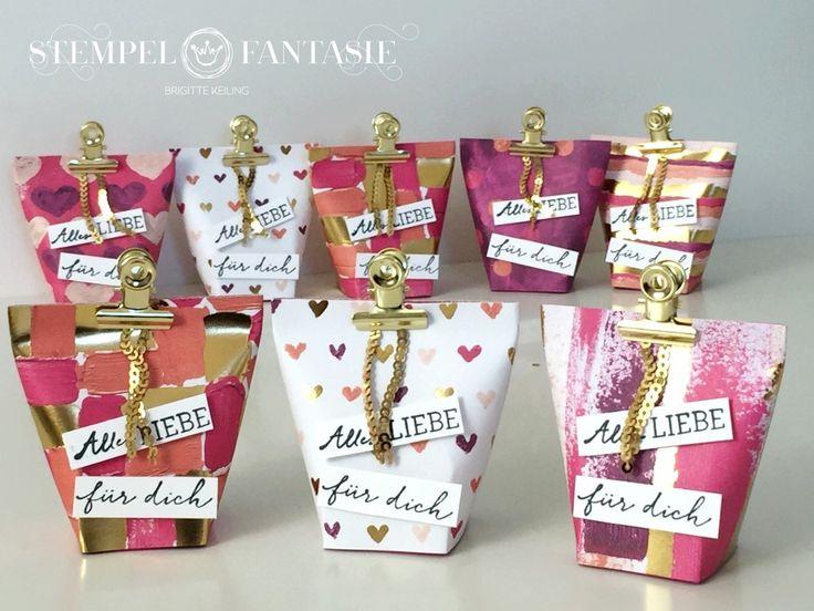 Glanzstücke gemalt mit Liebe - Mini-Box in a Bag