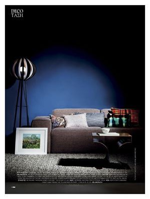 Παρουσιάζοντας την #aslanoglou στο #marieclairedeco φθινόπωρο 2015 | #χαλί #Tresse by #ToulemondeBochart #μάλλινο & # #χειροποίητο | #φωτιστικό #BonnetBright by #Casalis | #design #LisetvanderScheer | #styling #ΕλληΓρατσία  #modernstyle #moderndecor #moderninteriors #modern