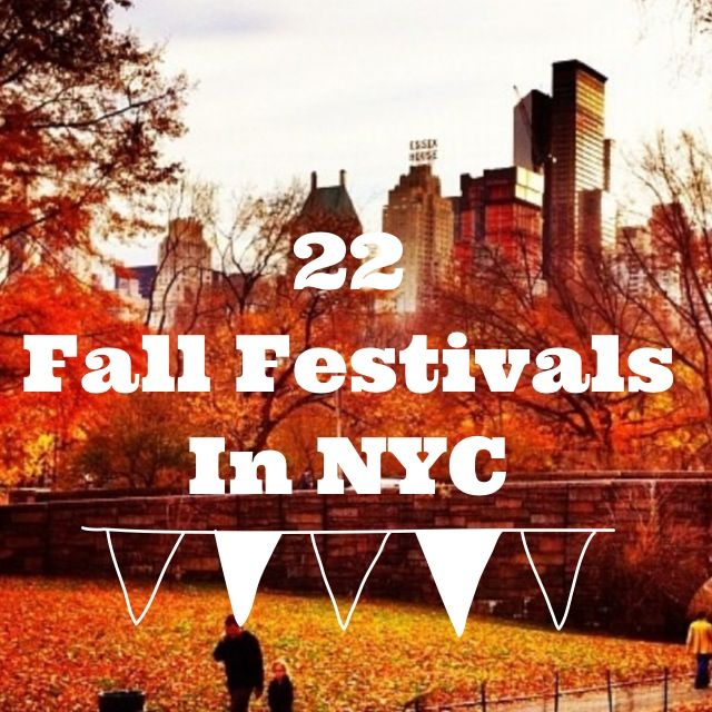 22 Fall Festivals in #NYC - Pumpkin Picking, Honey Festival, Lower East Side Pickle Day and more.