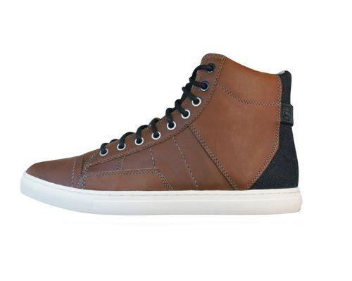 G-STAR Raw Augur II Sentinel Mens Leder Schuhe Sneaker / Boots - braun - http://on-line-kaufen.de/g-star/g-star-raw-augur-ii-sentinel-mens-leder-schuhe