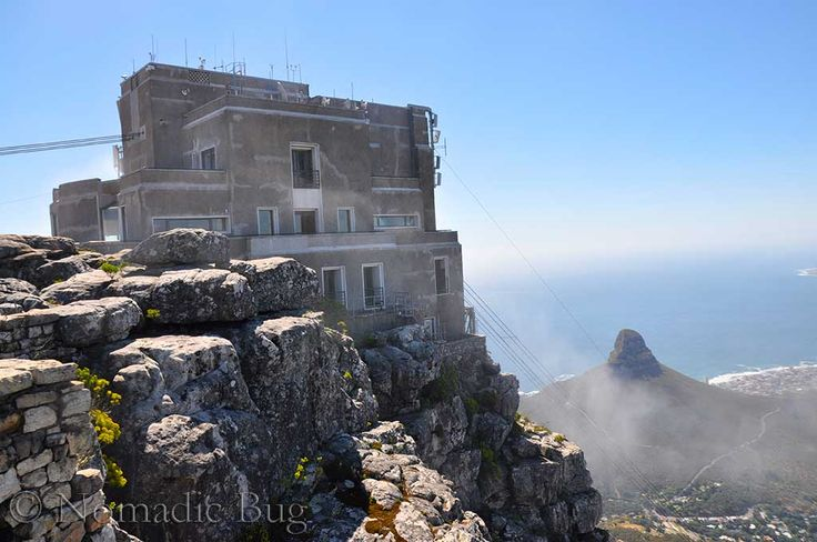 Cable car house, Table Mountain, Cape Town, South Africa  Landmarks Nomadic Existence