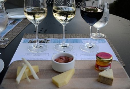 Sip and savour a decadent selection of British Columbian wines and cheeses - Fairmont Waterfront
