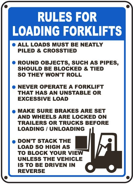 17 Images About Forklifts Safety Tips On Pinterest