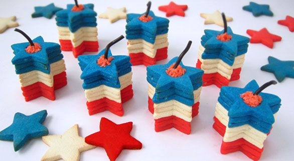 Hungry Happenings: Firecracker Cookies plus a dozen 4th of July Edible Craft Recipes
