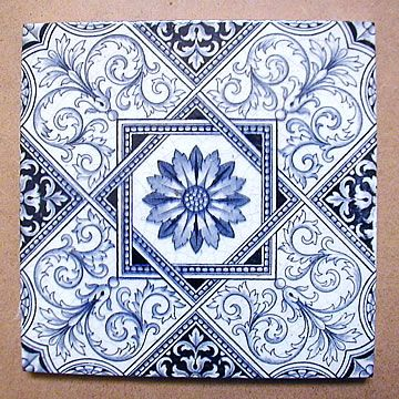 London Mosaic - Victorian Wall Tile