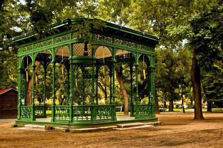 Beautiful pavillion in Zichy Park - Székesfehérvár, Hungary