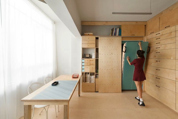 Airy Artist Studio Feels Larger Than Only 18 Square Meters - My Modern Metropolis